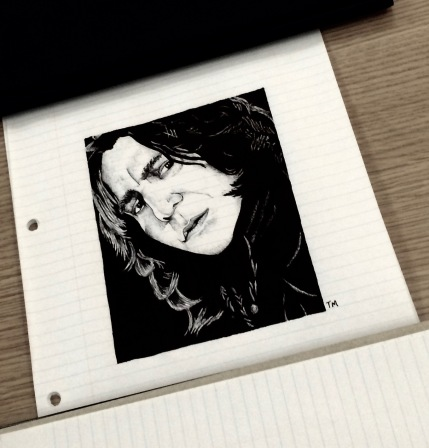 snape-on-table